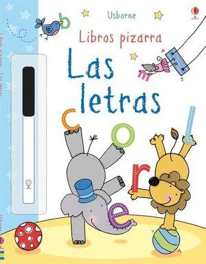 LIBROS PIZARRA LAS LETRAS
