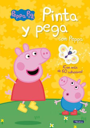 PEPPA PIG. PINTA Y PEGA CON PEPPA