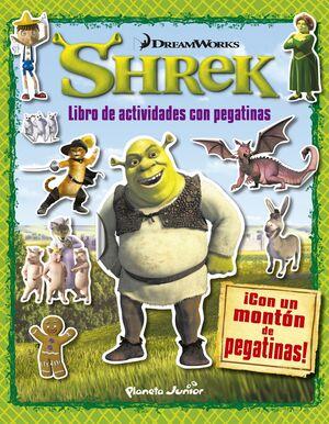 SHREK. LIBRO DE ACTIVIDADES CON PEGATINAS
