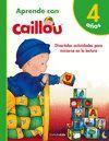 APRENDO CON CAILLOU +4