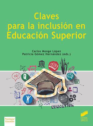 CLAVES PARA LA INCLUSION EN LA EDUCACION SUPERIOR