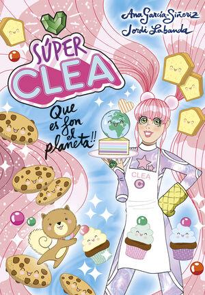 SUPER CLEA 2 QUE ES FON EL PLANETA! (SERIE SUPER CLEA 2)