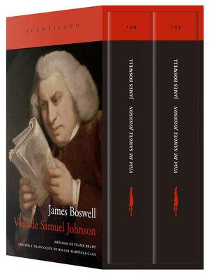 VIDA DE SAMUEL JOHNSON (ESTUCHE CON DOS VOLUMENES)