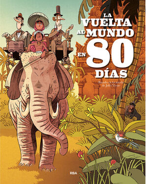 LA VUELTA AL MUNDO EN 80 DIAS (ALBUM)