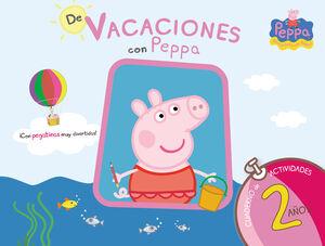 PEPPA PIG. DE VACACIONES CUADERNO 2 A?OS