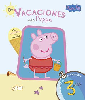 PEPPA PIG. DE VACACIONES CUADERNO 3 A?OS