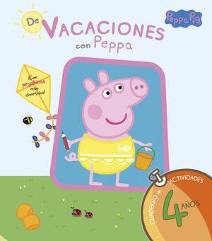 PEPPA PIG. DE VACACIONES CUADERNO 4 A?OS