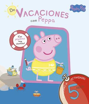 PEPPA PIG. DE VACACIONES CUADERNO 5 A?OS