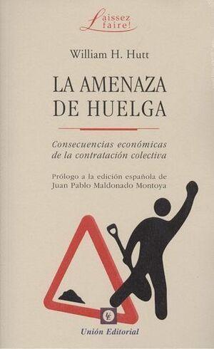AMENAZA DE HUELGA