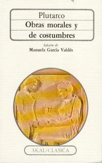 OBRAS MORALES Y DE COSTUMBRES