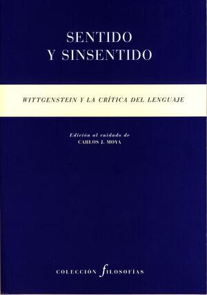 SENTIDO Y SINSENTIDO WITTGENSTEIN Y LA C
