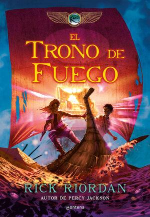TRONO DE FUEGO,EL(LAS CRONICAS DE KANE 2