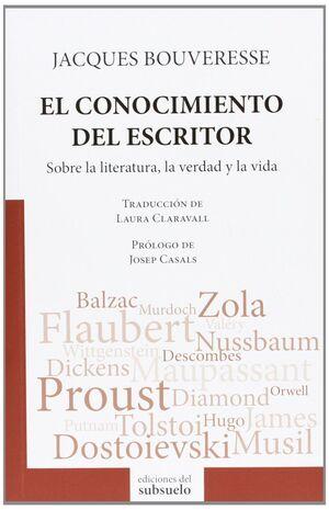 CONOCIMIENTO DEL ESCRITOR, EL