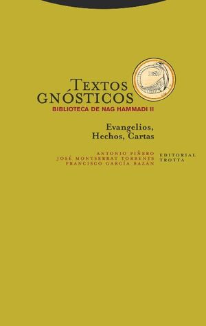 TEXTOS GNÓSTICOS II BIBLIOTECA DE NAG HAMMADI NE