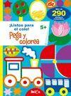PEGA Y COLOREA 5+