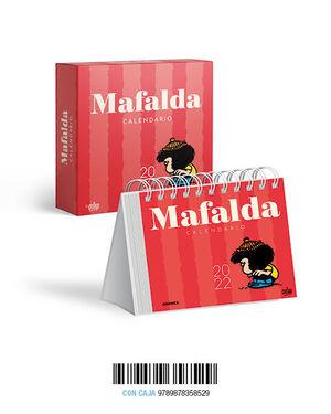 CALENDARIO 2022 MAFALDA CAJA- ROJO