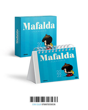 CALENDARIO 2022 MAFALDA CAJA- AZUL